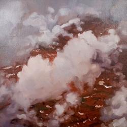 "oil on canvas, 17 x 17"", 2008"